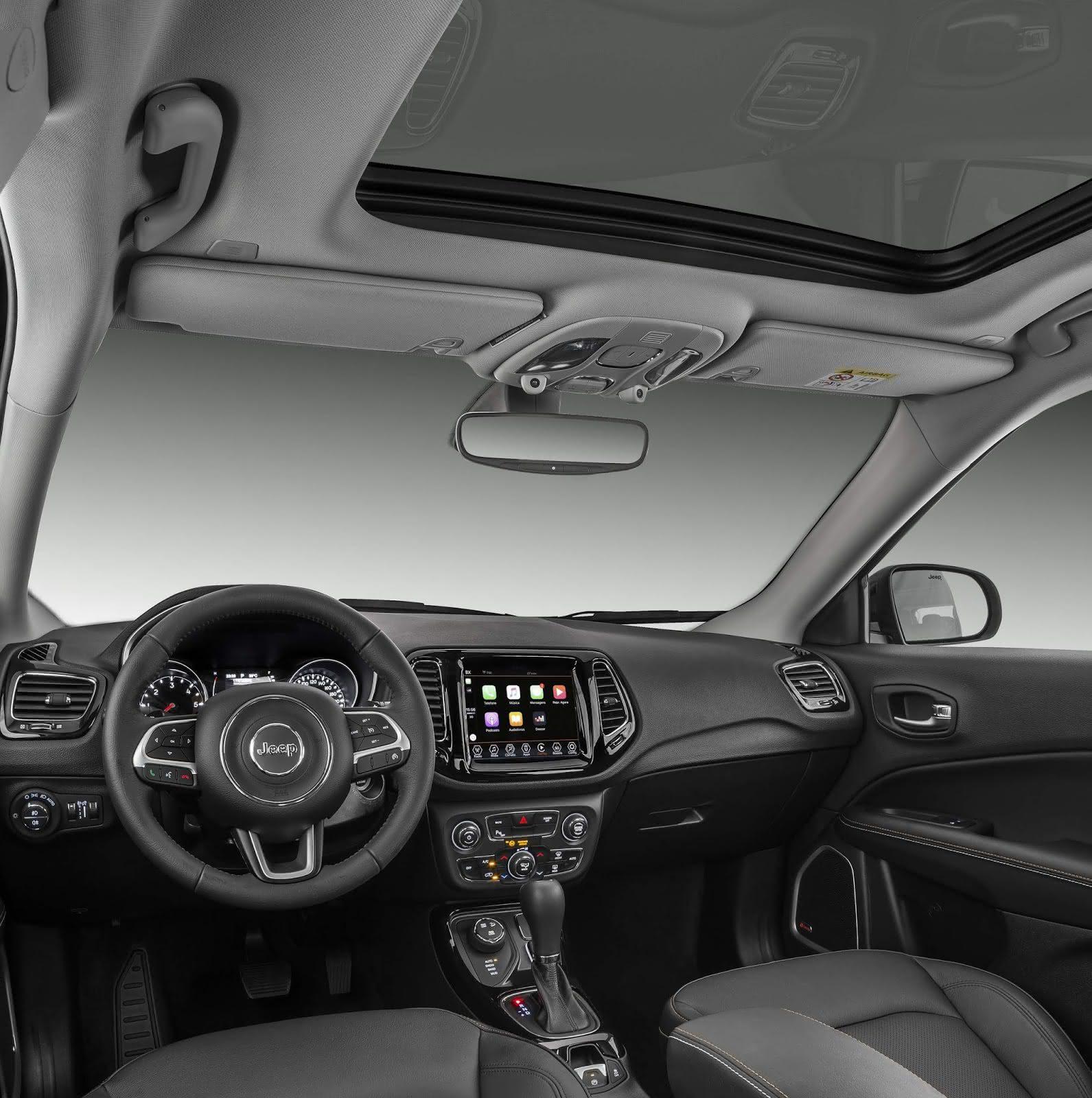 Jeep Renegade Interior >> JEEP COMPASS 2021 → Preços, Fotos, Visual, Interior, Itens ...