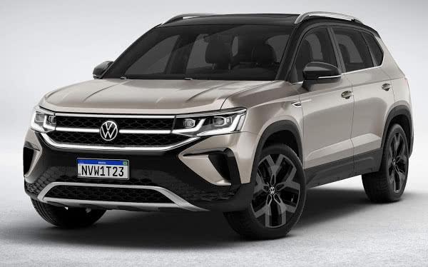 NOVO VW TAOS 2021 → Ficha Técnica, Consumo, Motor e Preço